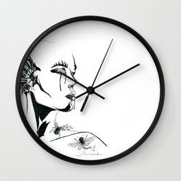 Ocean Honey Wall Clock
