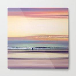 Pastel Horizons Metal Print