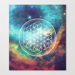 Flower Of Life 008 Canvas Print