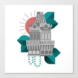 Oakland Tribune Tower Canvas Print
