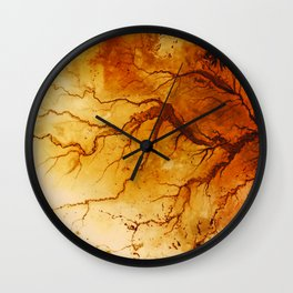 Hesperus III Wall Clock
