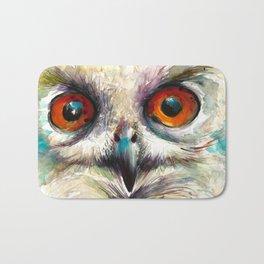 OWL EYE Watercolor Bath Mat