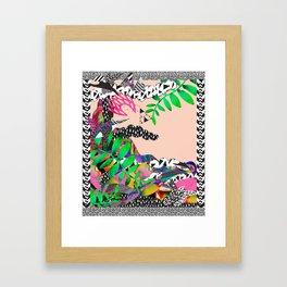 Tedders <3 Framed Art Print