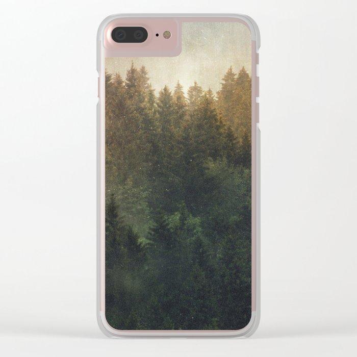 Asleep Clear iPhone Case