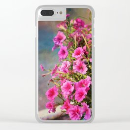 Glorious Pinks Clear iPhone Case