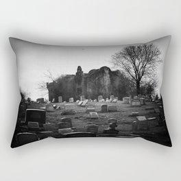 Abandoned Silence Rectangular Pillow