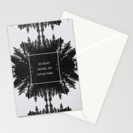 SO MANY BOOKS SO LITTLE TIME Stationery Cards