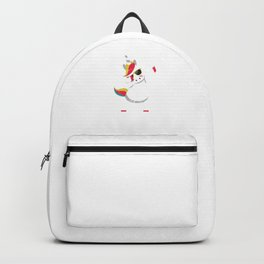 Cool Dabbing Unicorn With Glasses Dabber Dab Backpack