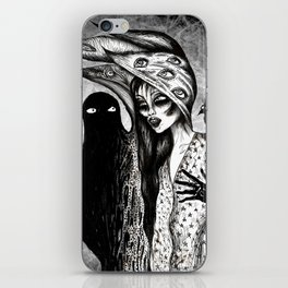 Dialogue With A Demon iPhone Skin