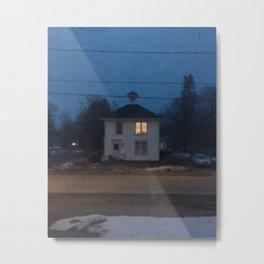 Two Lights Upstairs Metal Print