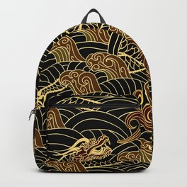 oriental traditional pattern Backpack