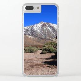 Amazing El Teide 1.0 Clear iPhone Case