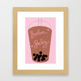 Boba Baby Framed Art Print