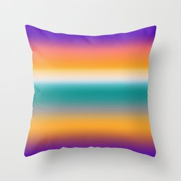 Beach Vibes Hologram Throw Pillow