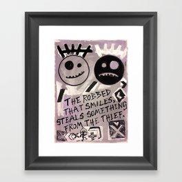 The Robbed Framed Art Print