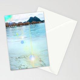 Tahitian Footprints Photo Stationery Cards