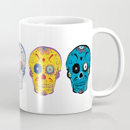 Sugar Skull Vamonos Mexicana Coffee Mug