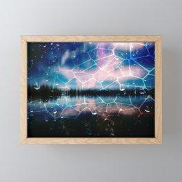 Abstract : Netlake Framed Mini Art Print