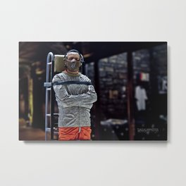 The Silence of the Lambs Metal Print