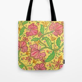 Florally Floral Town Tote Bag