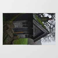 downton abbey Area & Throw Rugs featuring Barrow Abbey by Best Light Images