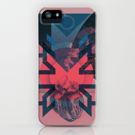 Heart Deconstruction iPhone Case