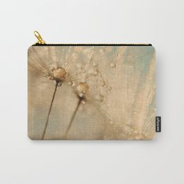 dandelion gold and mint Carry-All Pouch