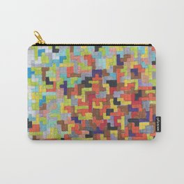 Warm Blocks Cloud Carry-All Pouch