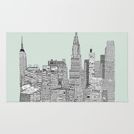 New York vintage  Rug