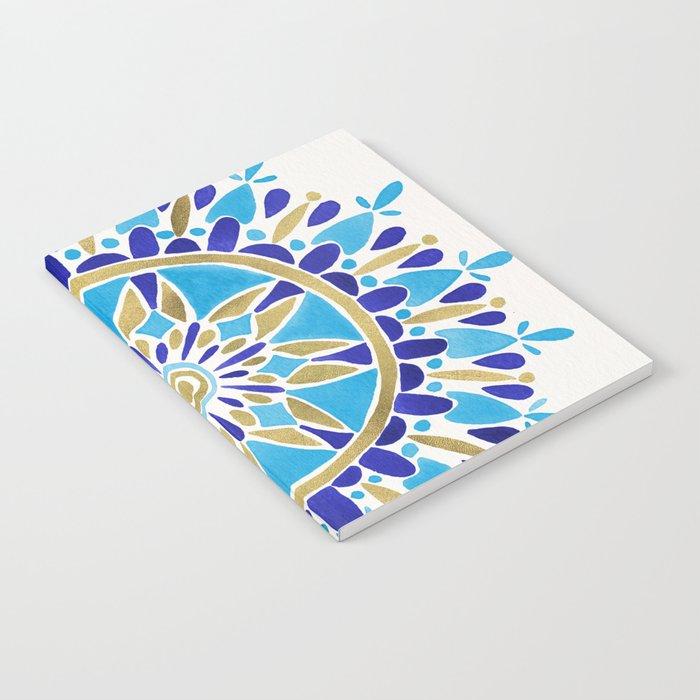 Royal Blue Mandala Notebook