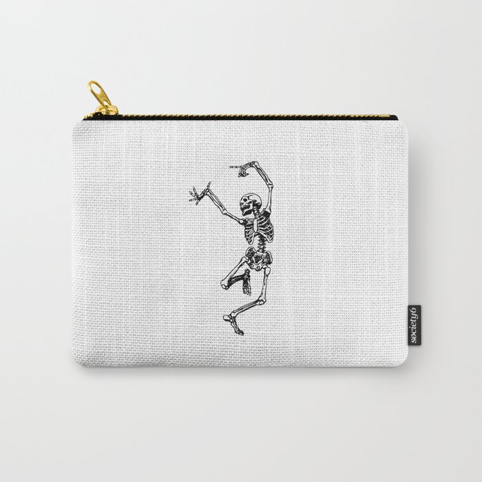 DANCING SKULL Carry-All Pouch
