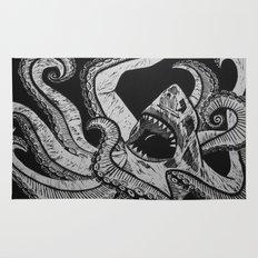 Sharktopus Rug