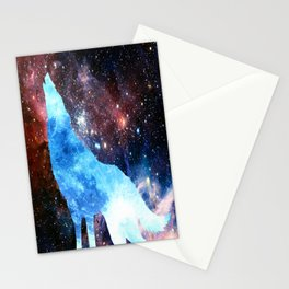 NOCTURNE : ASTRAL WOLF Stationery Cards