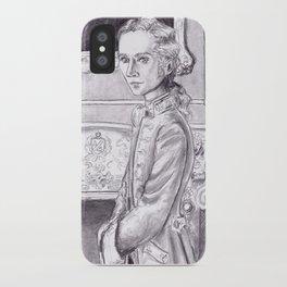 Rococo Vampire iPhone Case