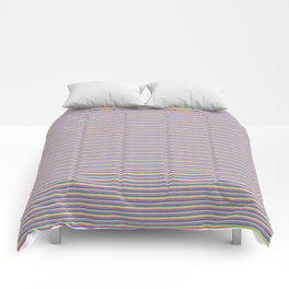 Rainbow Stripe Pattern Comforters