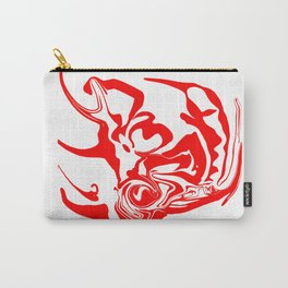 face8 red Carry-All Pouch