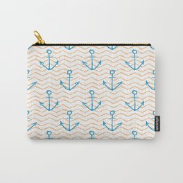Anchors and waves Carry-All Pouch