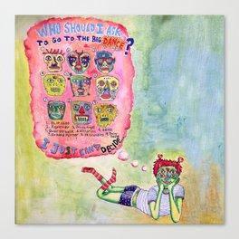 Sadie Hawkins Canvas Print