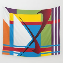 X Marks the Spot Wall Tapestry