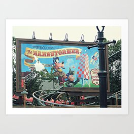 The Barnstormer featuring the Great Goofini Art Print