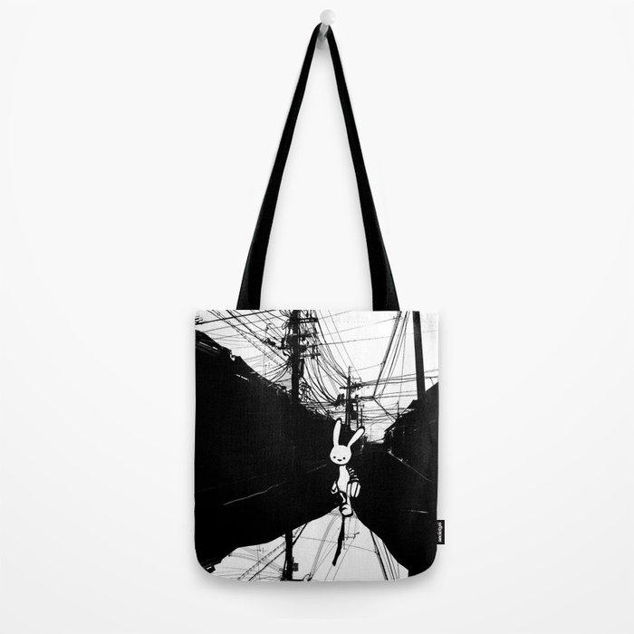 minima - beta bunny / noir Tote Bag
