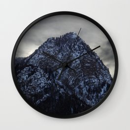 Sunset in White River National Forest Wall Clock
