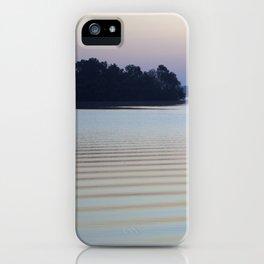 Calm morning iPhone Case