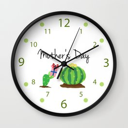 Mother's Day Wall Clock