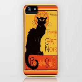 Tournee Du Chat Noir - After Steinlein iPhone Case