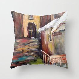 Evening in Rome Throw Pillow