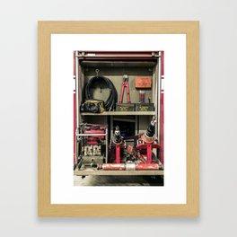 Fire Stations Framed Art Print