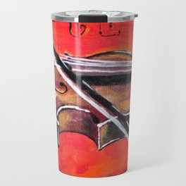 Homage to the Violin Travel Mug