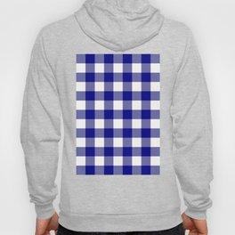 Gingham (Navy Blue/White) Hoody