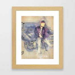 35-111 Framed Art Print